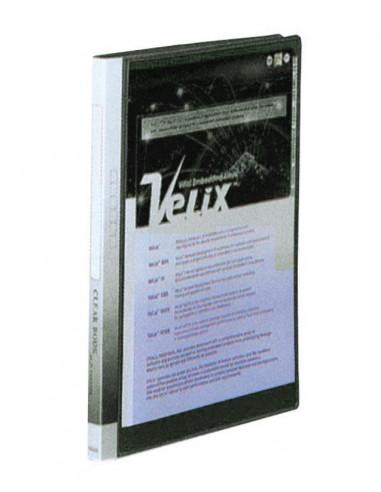 Comix σούπλ 40 φύλλων PP μαύρο Α4 Υ31x23,5x25εκ.