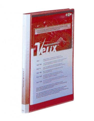 Comix σούπλ 10 φύλλων PP κόκκινο Α4 Υ31x23,5x9εκ.