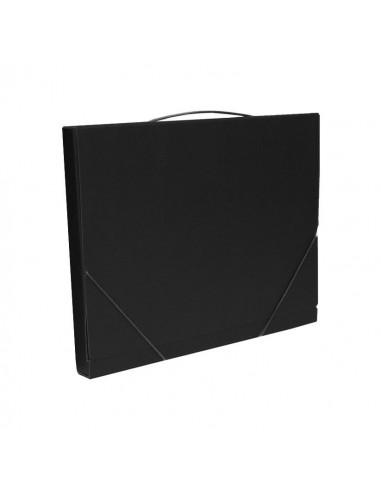 Next τσάντα συνεδρίων classic μαύρη Υ36x28x3εκ.