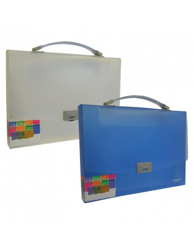 Comix τσάντα εγγράφων διάφορα χρώματα Α4 Υ25x34x3.5εκ.