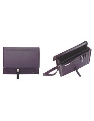 Comix portfolio-τσάντα με 2 θήκες μαύρο Υ33x26x9εκ.