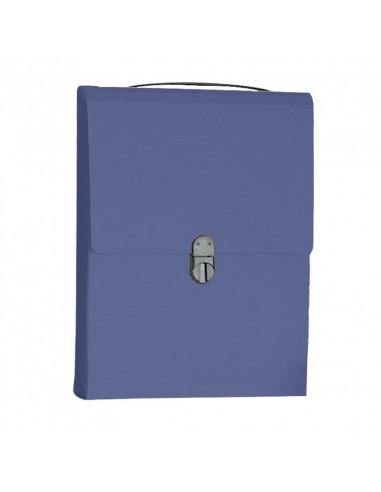Next τσάντα συνεδρίων όρθια classic μπλε Υ32x24x5εκ.