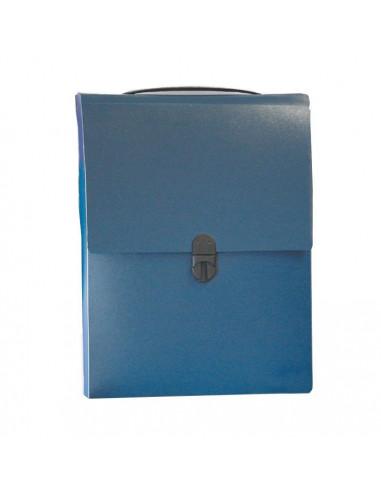 Next τσάντα συνεδρίων όρθια PP μπλε σκούρο Υ32x24x5εκ.