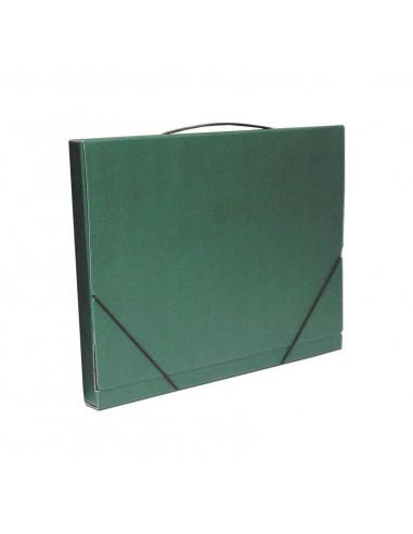 Next τσάντα συνεδρίων classic πράσινη Υ36x28x3εκ.