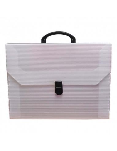 Τσάντα εγγράφων PP διάφορα χρώματα Υ29x38,8x5,5εκ.