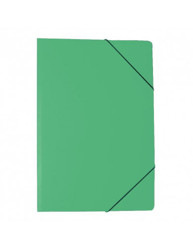 Next φάκελος με λάστιχο χωρίς αυτιά πρεσπάν πράσινος Υ34.5x24.5εκ.