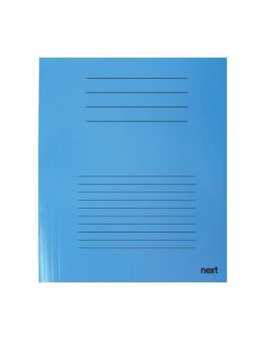 Next δίφυλλο παρουσίασης μπλε Υ31x23εκ.