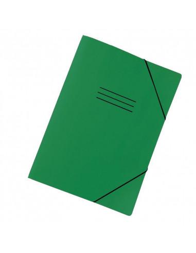 Next φάκελος με λάστιχο classic πράσινος Υ32x24x1εκ.