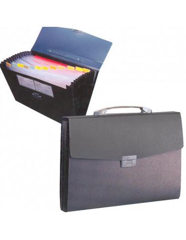 Comix τσάντα αρχειοθήκη PP γκρι Υ38.5x28x4.1εκ.