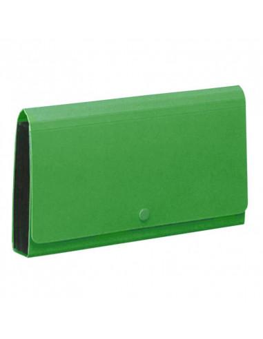 Comix αρχειοθήκη επιταγών PP πράσινη Υ26,2x14.5x3εκ.