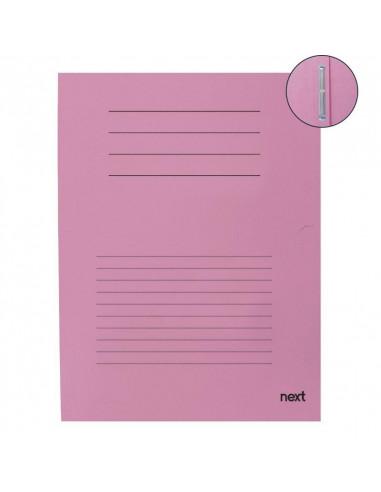 Next φάκελος με έλασμα μανίλα ροζ Υ31x25εκ.