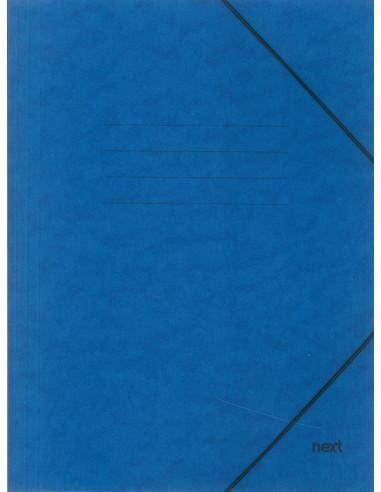 Next φάκελος με λάστιχο πρεσπάν μπλε Α3 Υ43x30x0εκ.