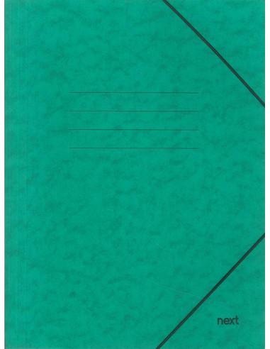 Next φάκελος με λάστιχο πρεσπάν πράσινος Α3 Υ43x30x0εκ.