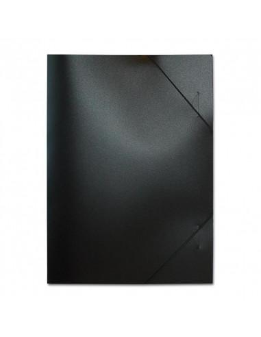 Next φάκελος με λάστιχο PP μαύρος Υ35x25x0εκ.