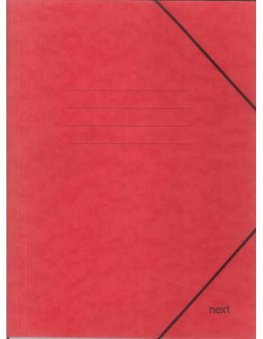 Next φάκελος με λάστιχο πρεσπάν κόκκινος Α3 Υ43x30x0εκ.