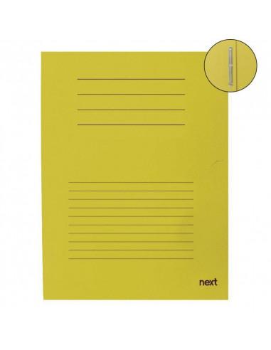 Next φάκελος με έλασμα μανίλα κίτρινος Υ31x25εκ.