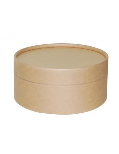 Κουτί οικολογικό στρόγγυλο για διακόσμηση Ø 12x6εκ.
