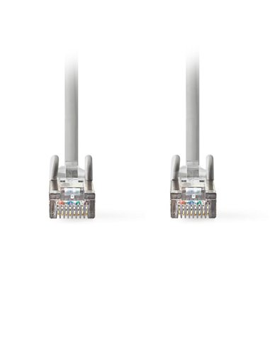 NEDIS CCGT85320GY20 Network Cable CAT6a SF/UTP RJ45 Male RJ45 Male 2.0 m Grey