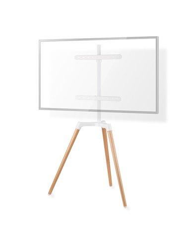 "NEDIS TVSM7060WT TV Floor Stand 50 - 65"" up to 35 kg Scandanavian design White /"