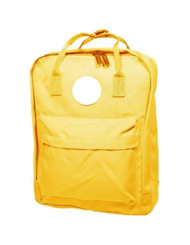 Σακίδιο πλάτης κίτρινο Υ38x28x9εκ.